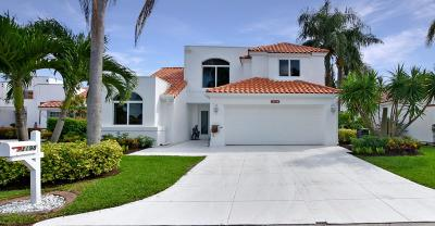 Palm Beach Gardens Single Family Home For Sale: 13198 Touchstone Place