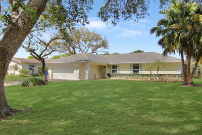 Palm Beach Gardens Single Family Home For Sale: 4093 Ilex Circle
