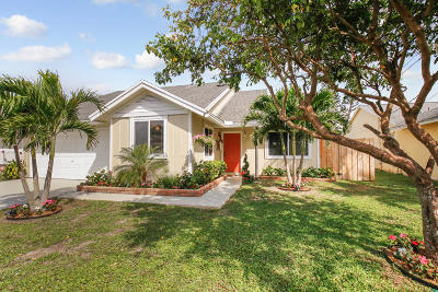 Jupiter Single Family Home For Sale: 6319 Garrett Street