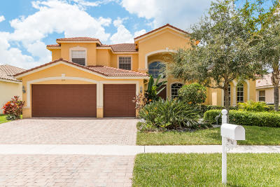Lake Worth Single Family Home For Sale: 9714 Campi Drive