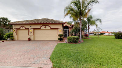 Port Saint Lucie Single Family Home For Sale: 9829 SW Carrotwood Circle