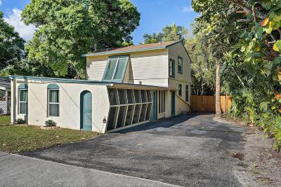 Single Family Home Sold: 502 Loxahatchee Drive #A