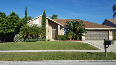Boynton Beach Single Family Home For Sale: 6265 Jaipur Court