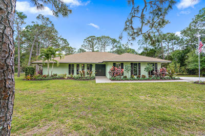 Jupiter Single Family Home For Sale: 13174 174th Court