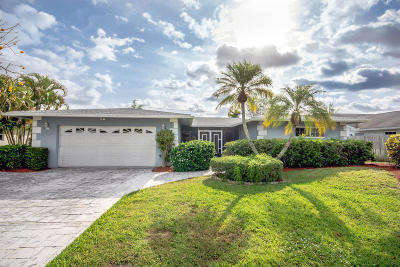 Delray Beach Single Family Home For Sale: 629 West Drive