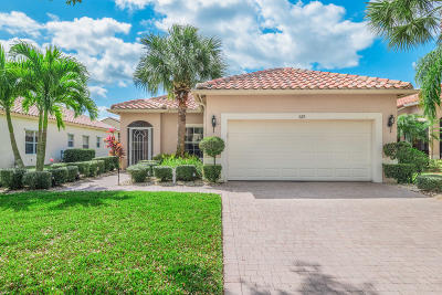 Port Saint Lucie Single Family Home For Sale: 329 NW Breezy Point Loop