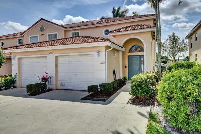 Boynton Beach Condo For Sale: 12473 Crystal Pointe Drive #202