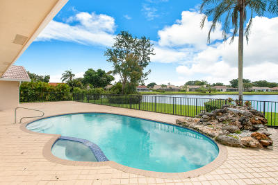 Boynton Beach Single Family Home For Sale: 11350 Wingfoot Drive