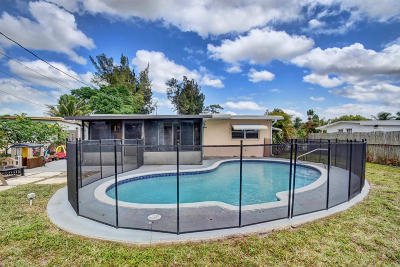 West Palm Beach Single Family Home For Sale: 1871 Calico Road