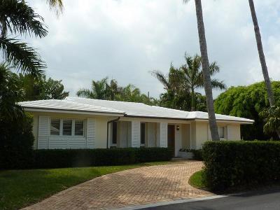 Palm Beach Rental For Rent: 210 Via Linda