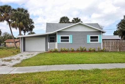 Stuart Single Family Home For Sale: 255 SE Salerno Road