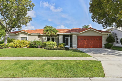 Lake Worth Single Family Home For Sale: 7360 Anadale Circle