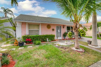 Lake Worth Single Family Home Contingent: 5637 Priscilla Lane