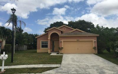 Boynton Beach Single Family Home For Sale: 6404 Lansdowne Circle