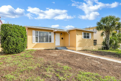West Palm Beach Single Family Home For Sale: 705 7th Street