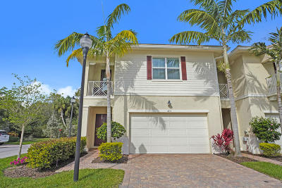 Palm Beach Gardens Townhouse For Sale: 4011 Kingston Lane