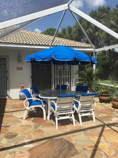 Palm Beach Gardens Rental For Rent: 4202 Water Oak Court