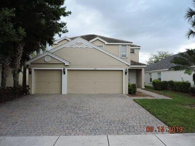 Royal Palm Beach Single Family Home For Sale: 247 Kensington Way