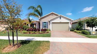 Port Saint Lucie Single Family Home For Sale: 10276 SW Indian Lilac Trail