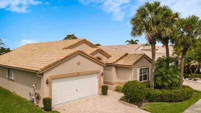 Boynton Beach Single Family Home For Sale: 6589 Bayhill Terrace