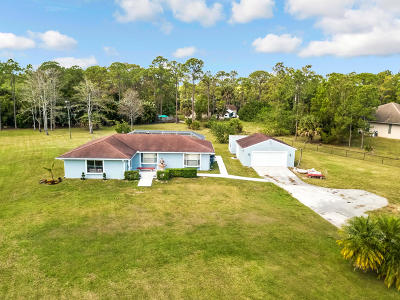 West Palm Beach Single Family Home For Sale: 4793 Avocado Boulevard