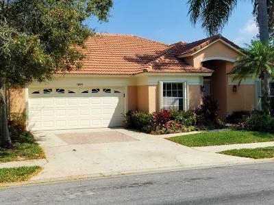 Riviera Beach Single Family Home For Sale: 3005 Casa Rio Court