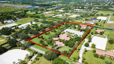Wellington FL Single Family Home For Sale: $6,995,000