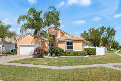 Lake Worth Single Family Home For Sale: 6403 C Durham Drive