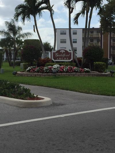 Boca Raton Condo For Sale: 3037 Guildford C #3037