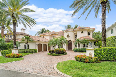Boca Raton Single Family Home For Sale: 1836 Sabal Palm Drive