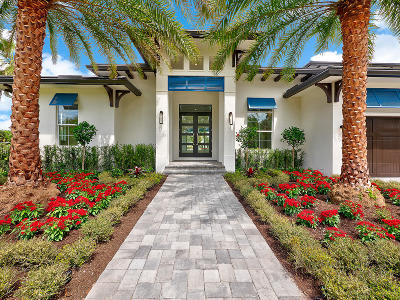Palm Beach Gardens Single Family Home For Sale: 2231 Canal Road