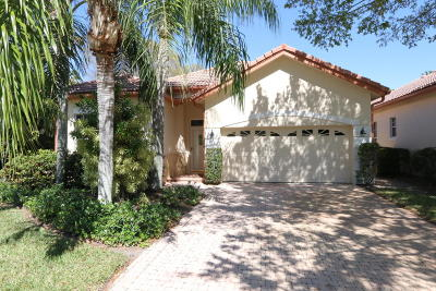 Palm Beach Gardens Single Family Home For Sale: 39 Monterey Pointe Drive