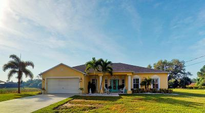 Port Saint Lucie Single Family Home For Sale: 5568 NW Thyer Circle