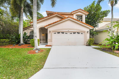 Palm Beach Gardens Single Family Home Contingent: 410 Woodview Circle