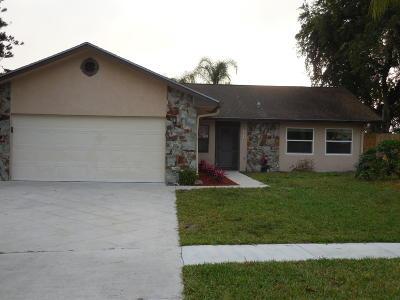 Royal Palm Beach Single Family Home For Sale: 109 Gibraltar Street