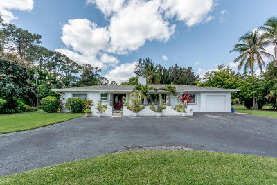 Palm Beach Gardens Single Family Home For Sale: 8902 Bates Road