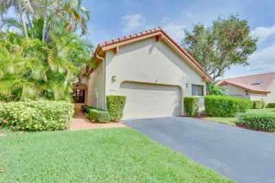 Boca Raton Single Family Home For Sale: 23423 Water Circle