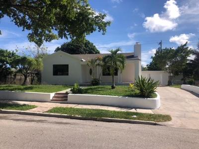 West Palm Beach Single Family Home For Sale: 908 30th Street