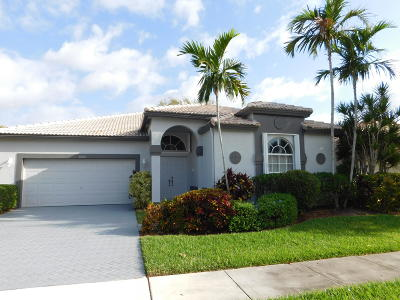 Boynton Beach Single Family Home For Sale: 10925 Royal Caribbean Circle