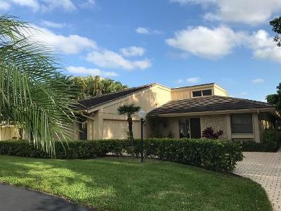 Palm Beach Gardens Single Family Home Contingent: 13775 Sand Crane Drive