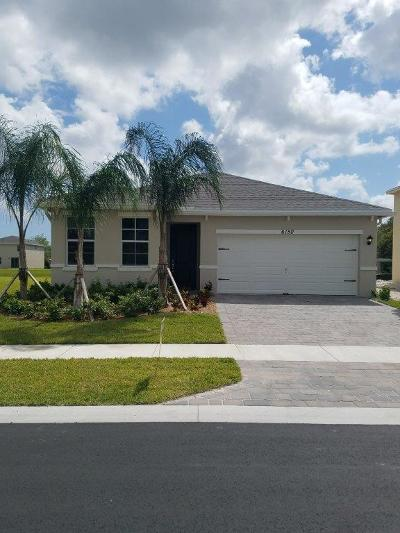 West Palm Beach Single Family Home For Sale: 6150 Wildfire Way