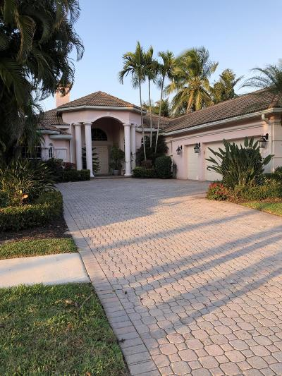 West Palm Beach Single Family Home For Sale: 9030 Lakes Boulevard