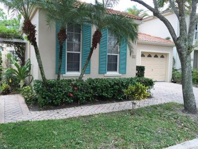 Palm Beach Gardens Rental For Rent: 21 Via Verona