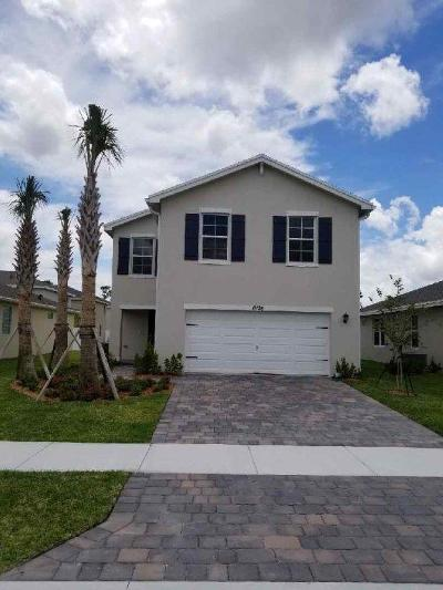 West Palm Beach Single Family Home For Sale: 6126 Wildfire Way