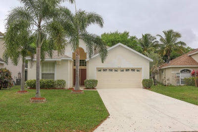 Jensen Beach Single Family Home For Sale: 808 NW Waterlily Place
