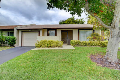Delray Beach Single Family Home For Sale: 5476 Laurel Oak Street