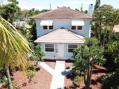 West Palm Beach Single Family Home For Sale: 505 36 Th Street #1