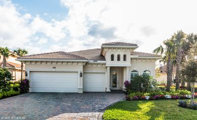Jupiter Single Family Home For Sale: 509 Carrara Court