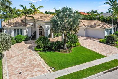 Palm Beach Gardens Single Family Home Contingent: 640 Hermitage Circle