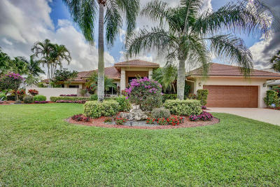 Boynton Beach Single Family Home For Sale: 11207 Westland Circle